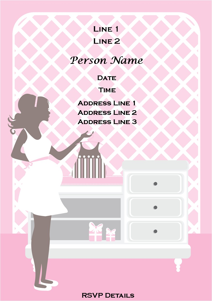 baby free printable shower girl invitations uk 2