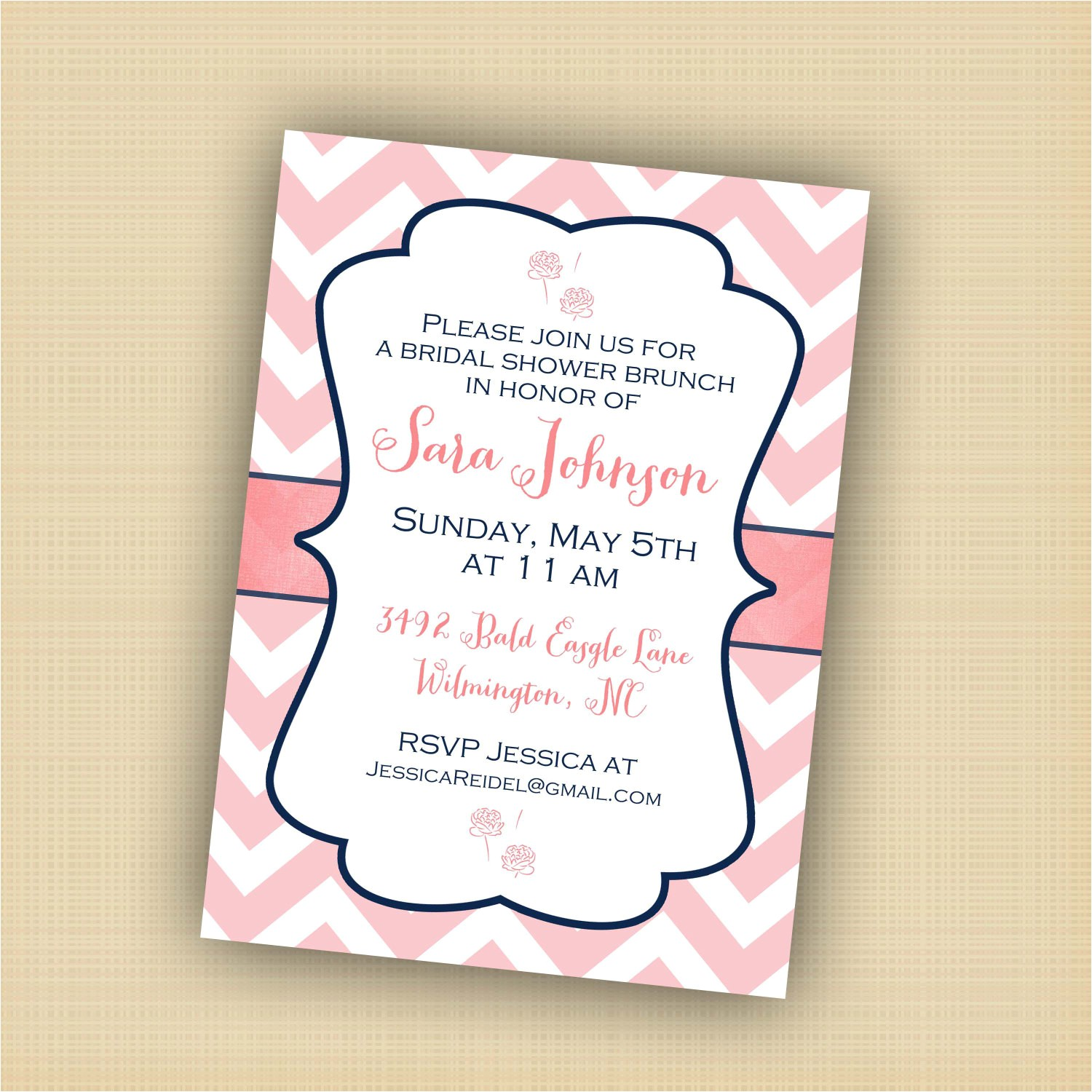 bridal brunch shower invitation wording