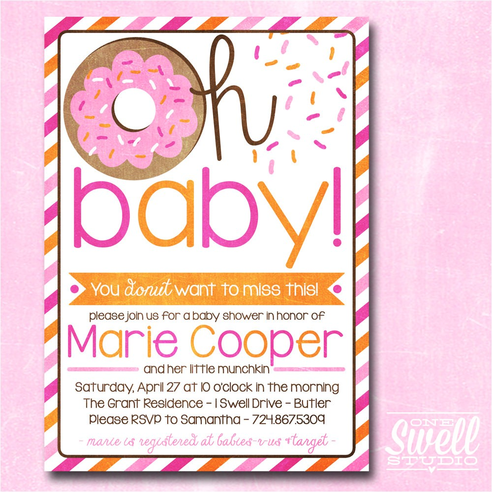 baby shower luncheon invitations wording