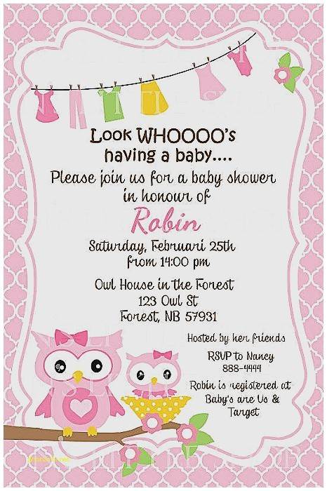 baby shower messages for invitations