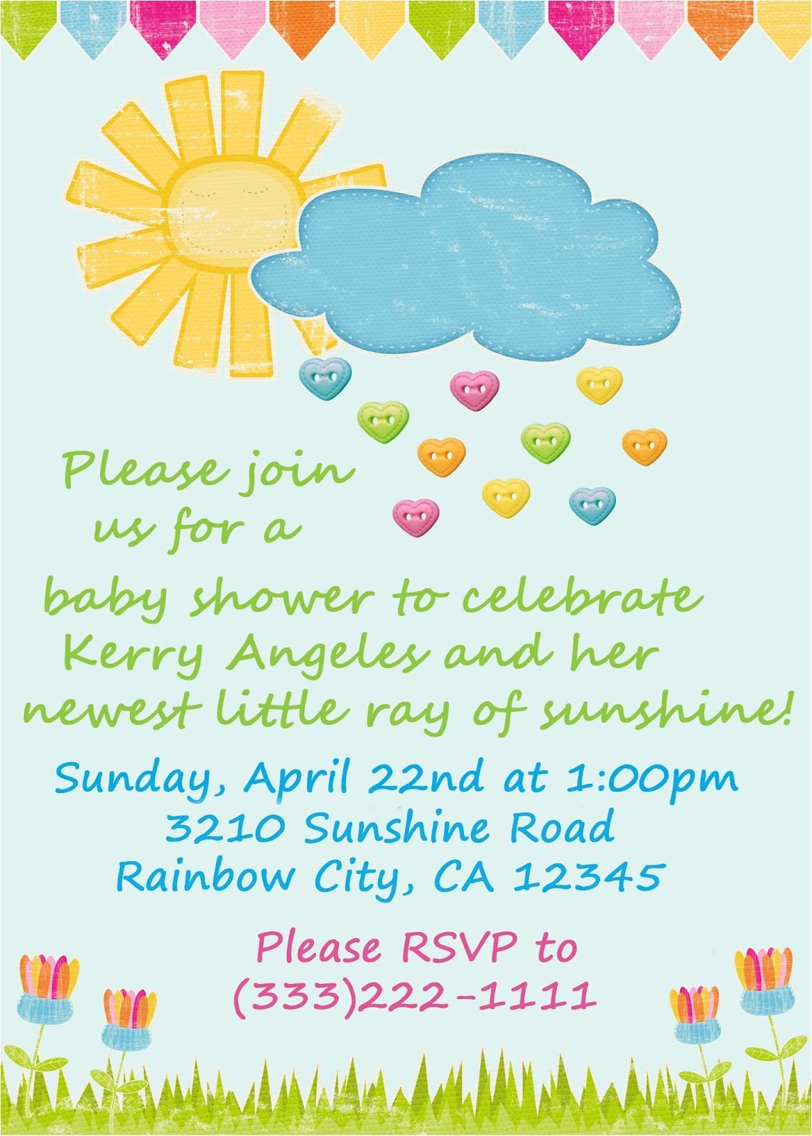 going digital baby shower invitation