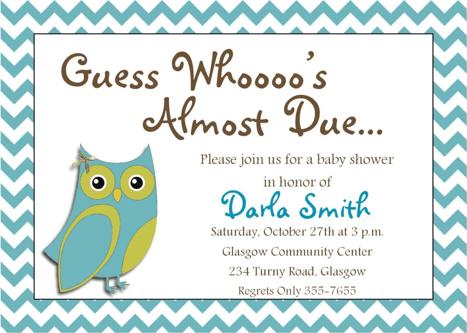 baby shower invitations maker