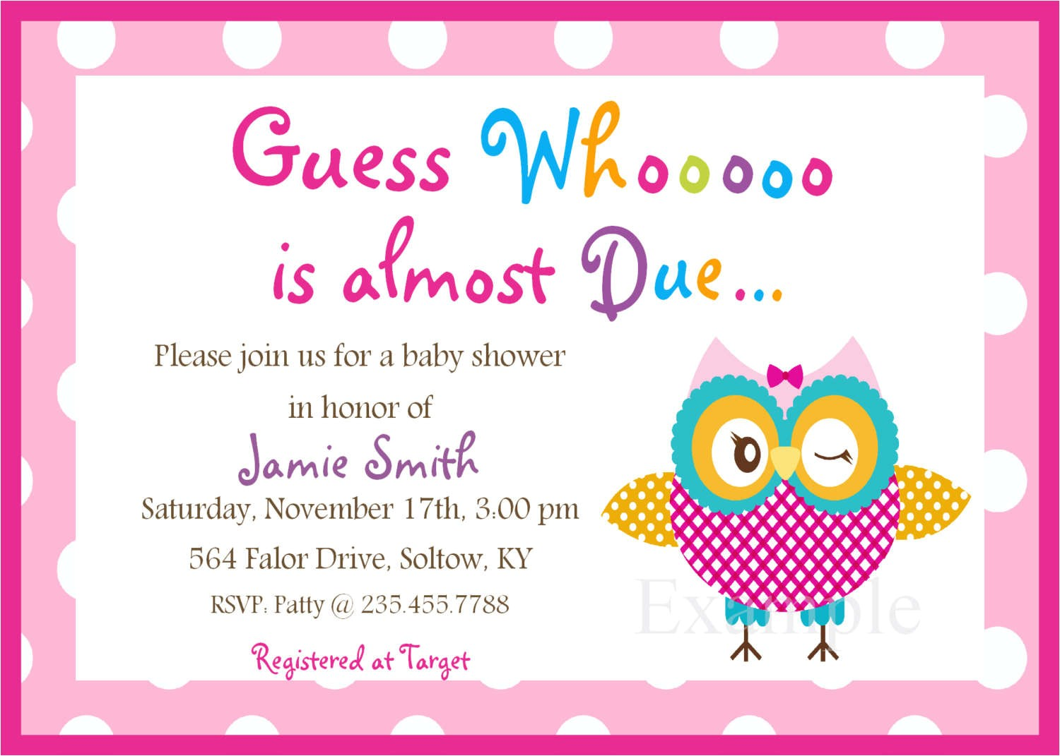 baby shower invitation maker free