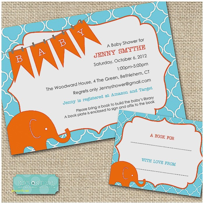 baby shower wishing well wording on invitations