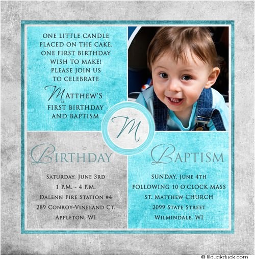 square photo baptism invitations
