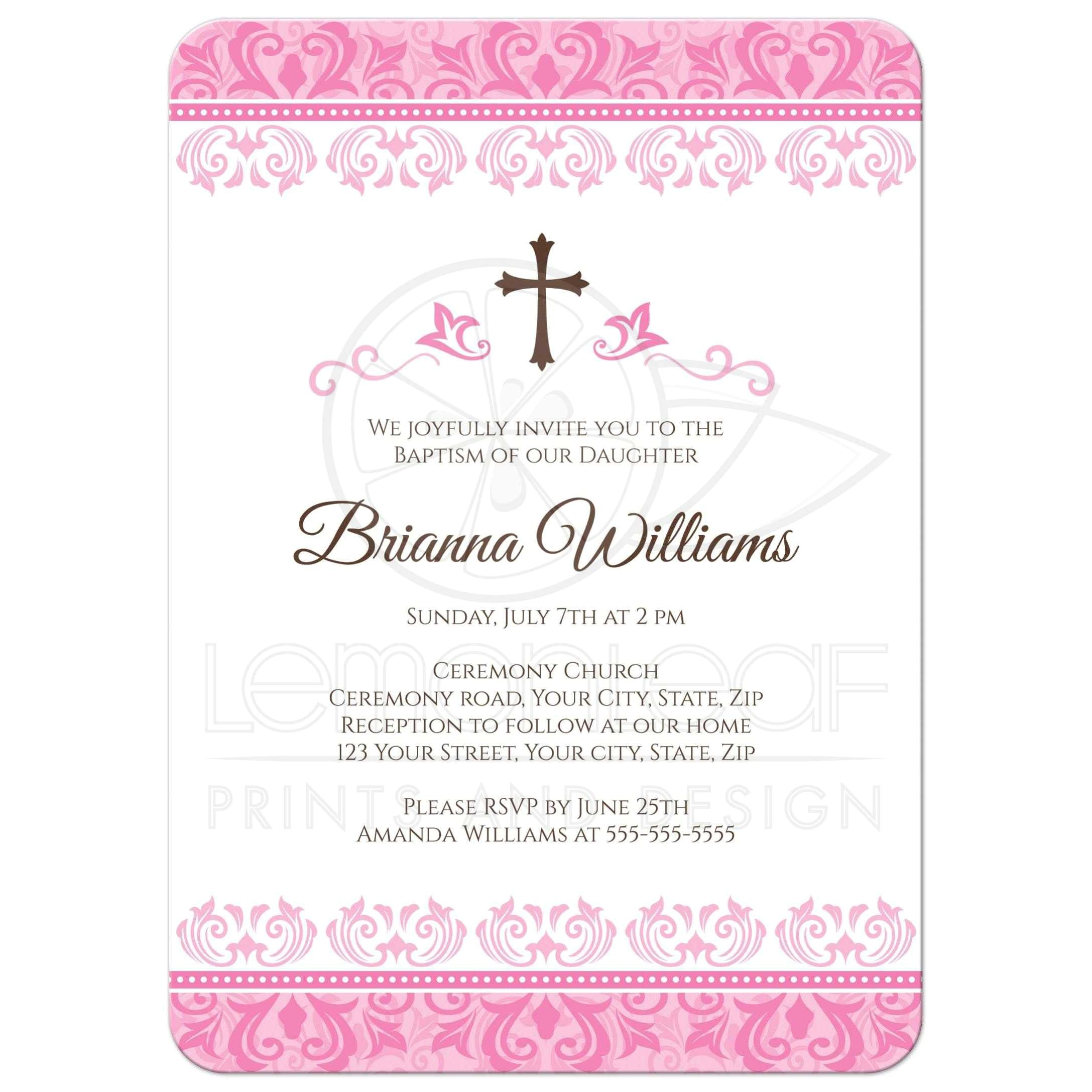 Baptism Bible Verses for Invitations Baptism Invitation Wording Baptism Invitation Wording
