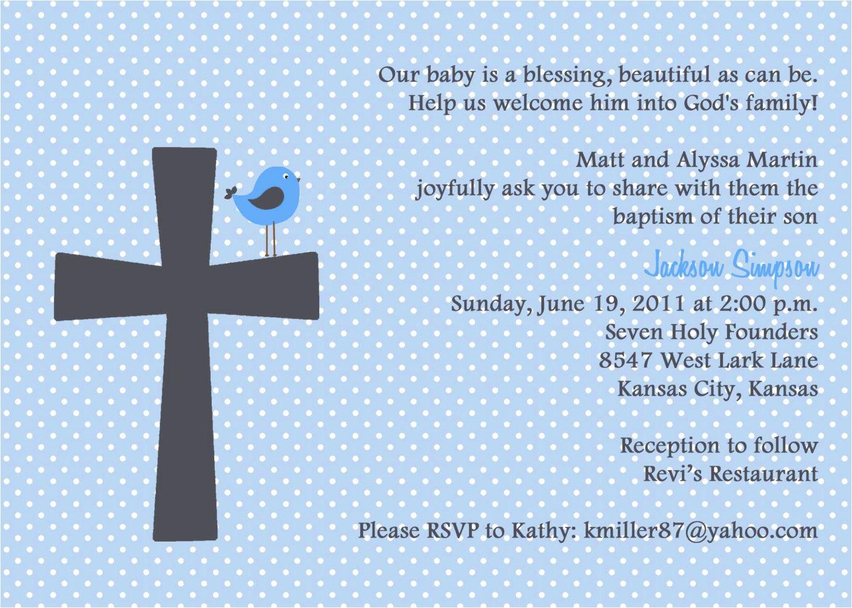baptism invitation wording bible verses 2