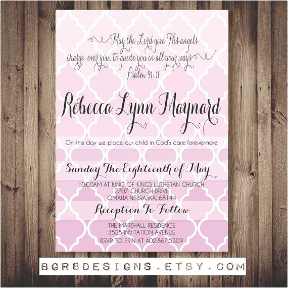 bible quotes for baptism invitations