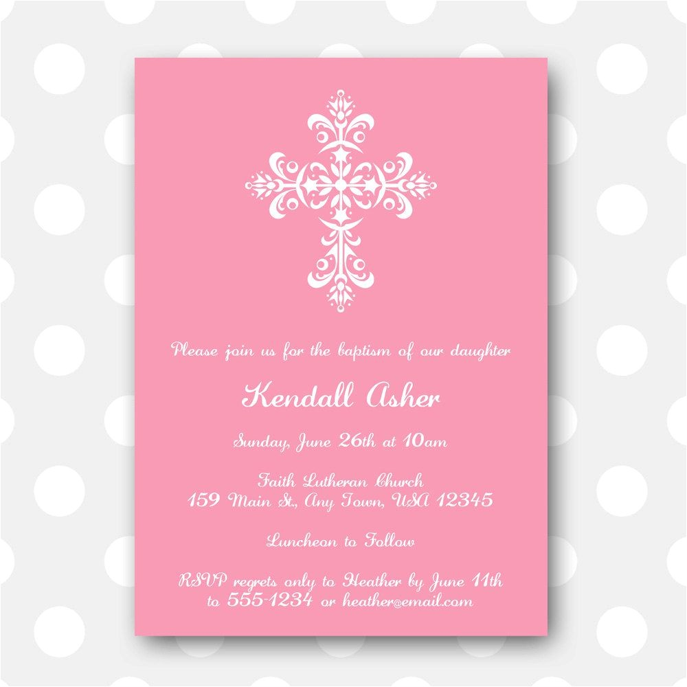 printable baptism invitationstml