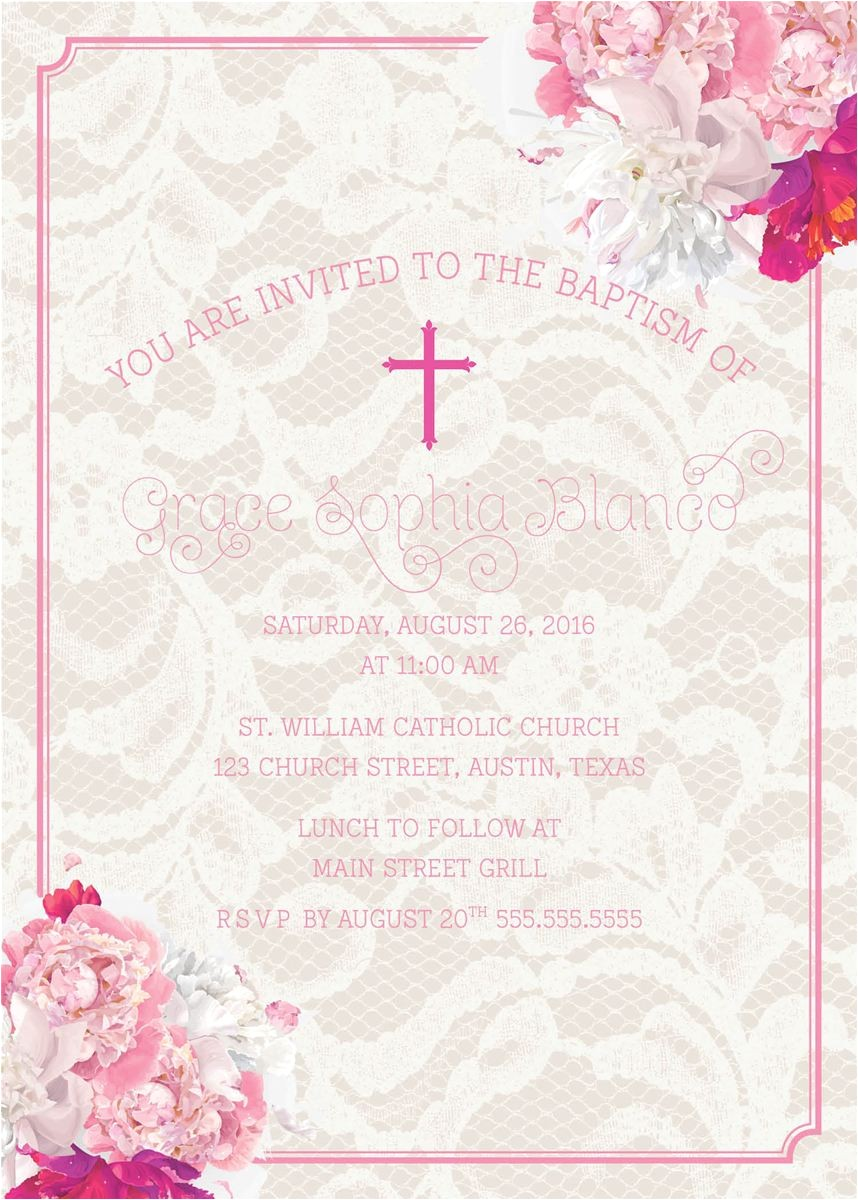 baptism invitations in spanish