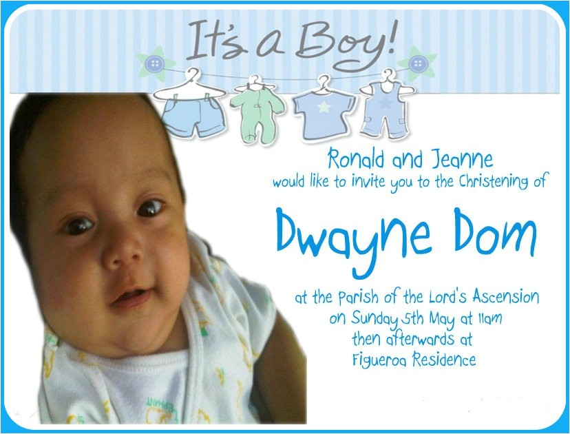 invitation for christening in the philippines