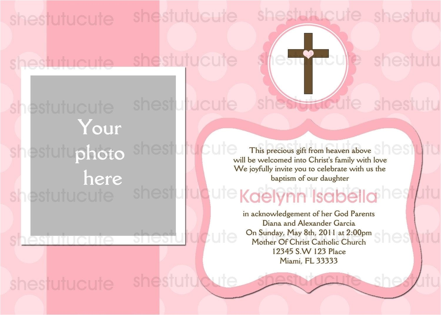 Baptism Invitations Australia Baptism Invitations Australia Template Resume Builder