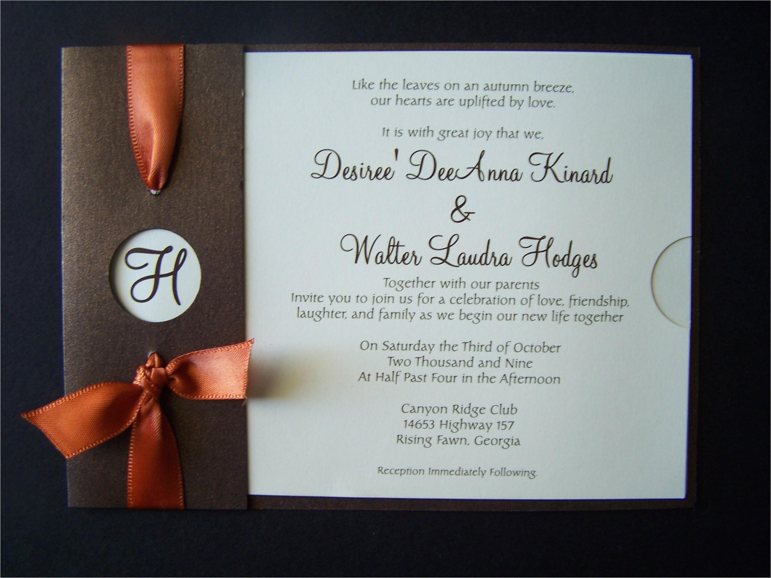 elegant wedding invitations canada pocket wedding invitations canada theladyball