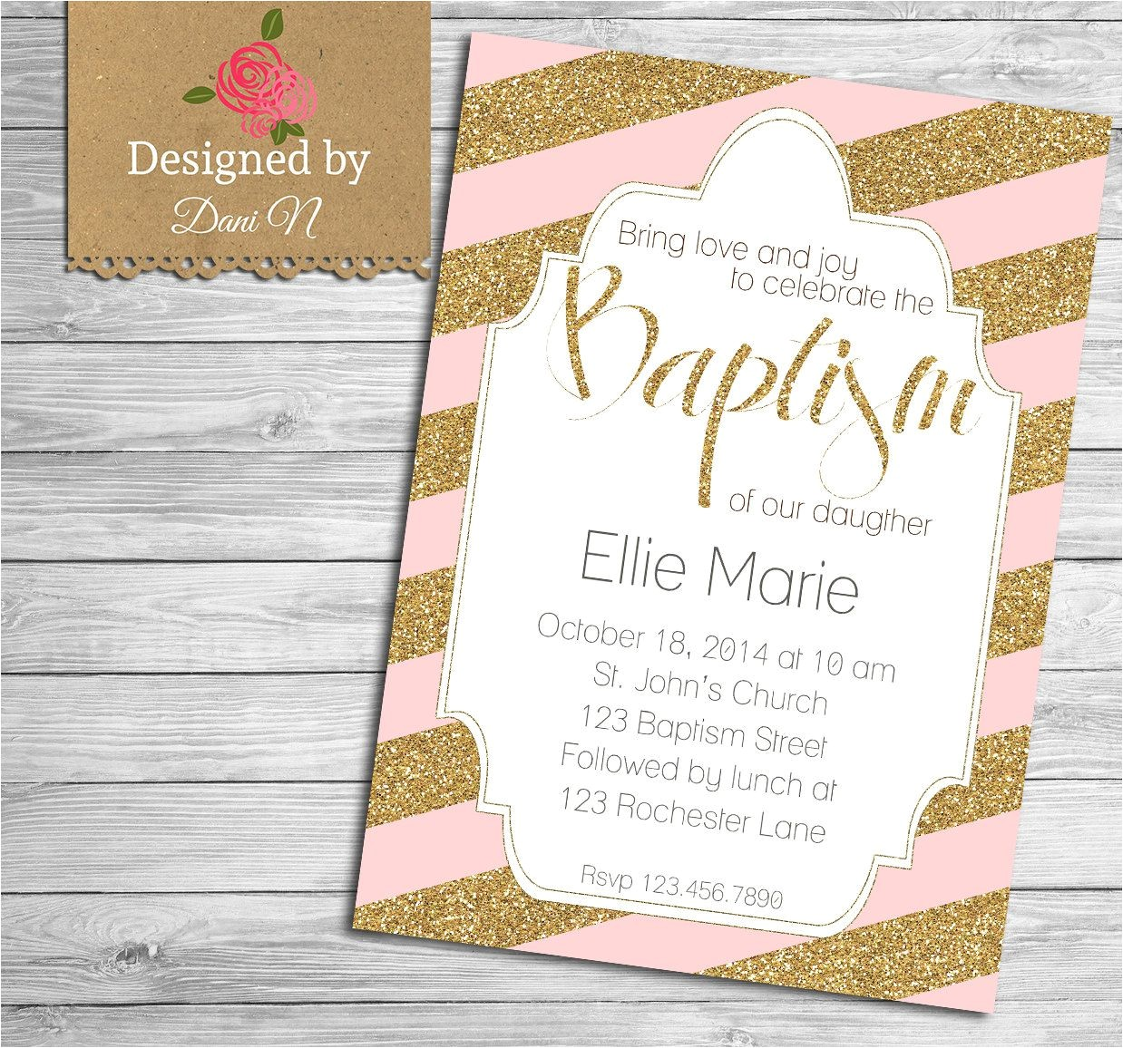 boy baptism invitations in spanish