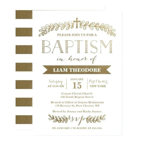sample invitations for baptism in spanish