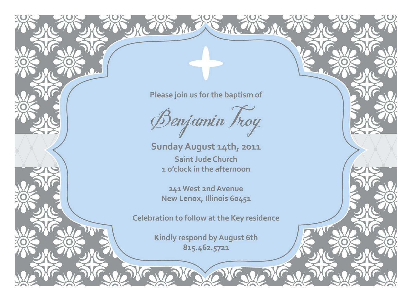 baptism invitation template