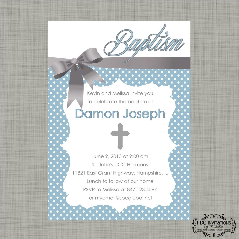 walmart baptism invitations