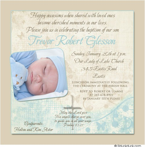 soft christening or holy baptism invitation
