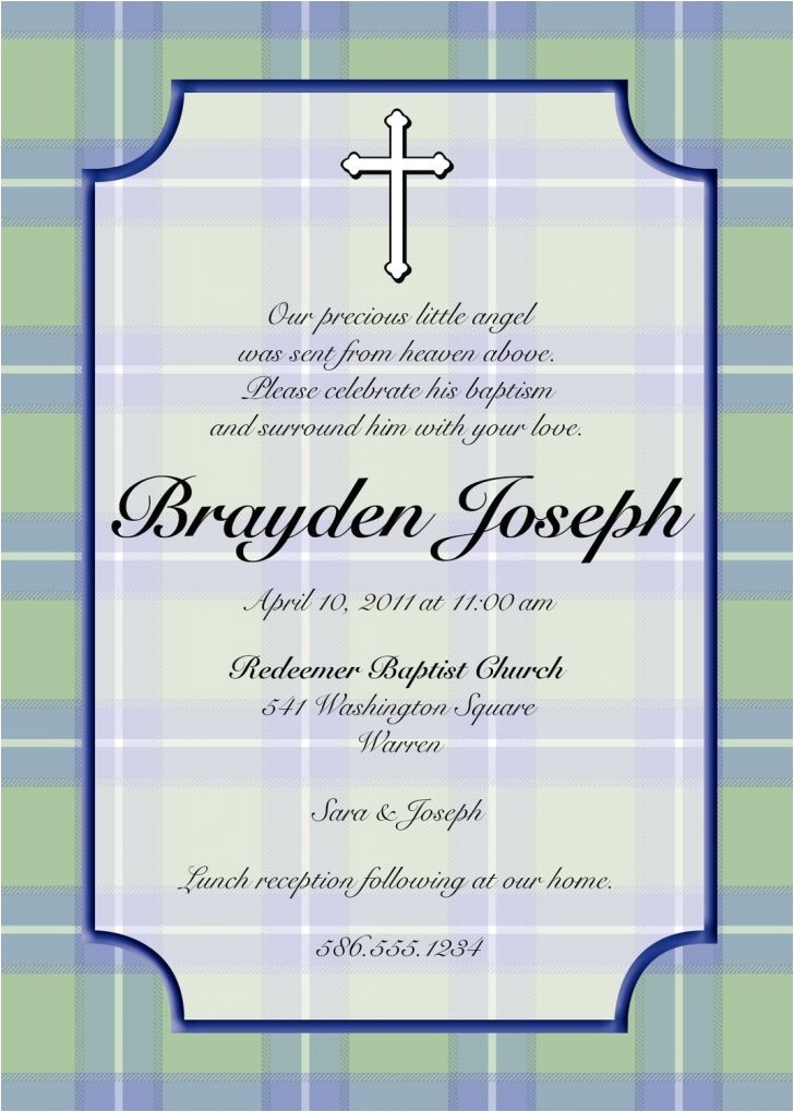 Baptism Invite Wordings Baptism Invitations In Spanish