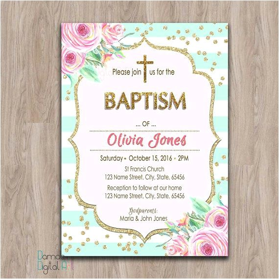 invitations for baptism online