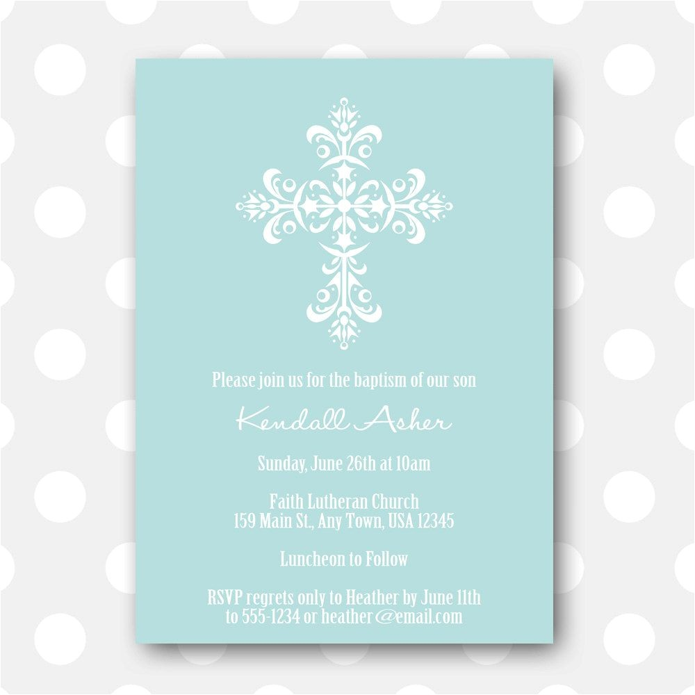 free printable christening invitation card templates