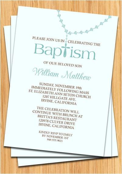 baby boy baptism invitation 2