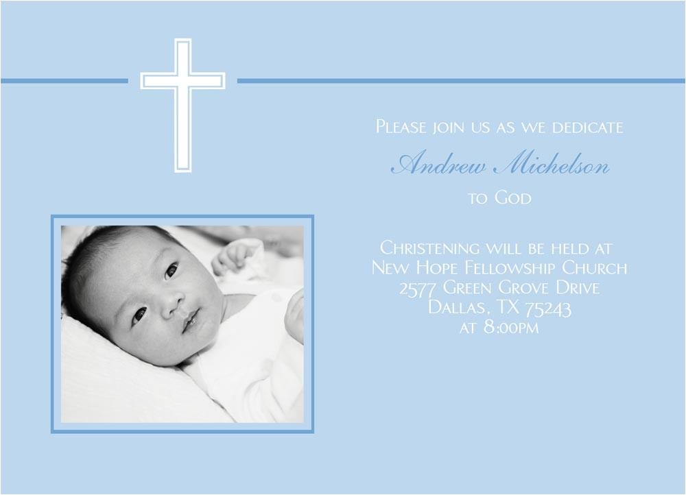 baby blue with white cross