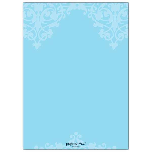 Baptismal Invitation Background Layout Fleur Blue Christening Invitations