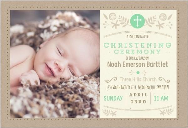 formal christening invitation wording