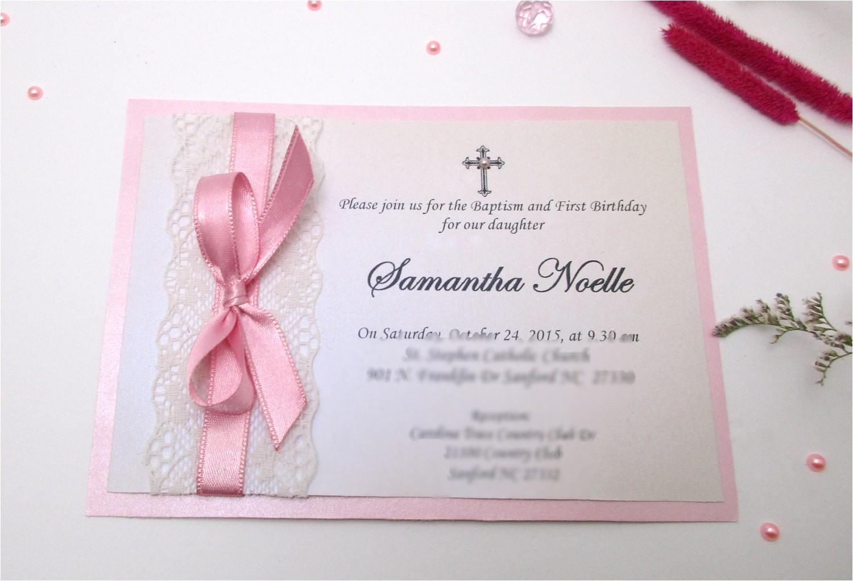invitation ideas for christening