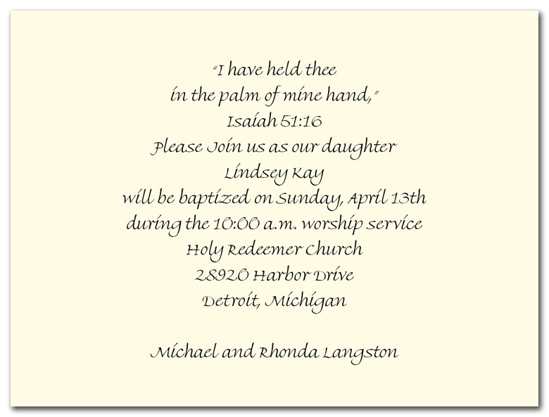 Baptismal Invitation Quotes Baptism Invitation Wording Quotes