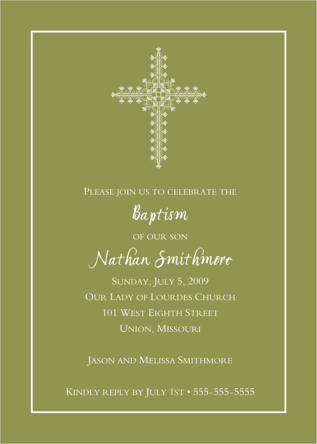 quotes for baptism invitations