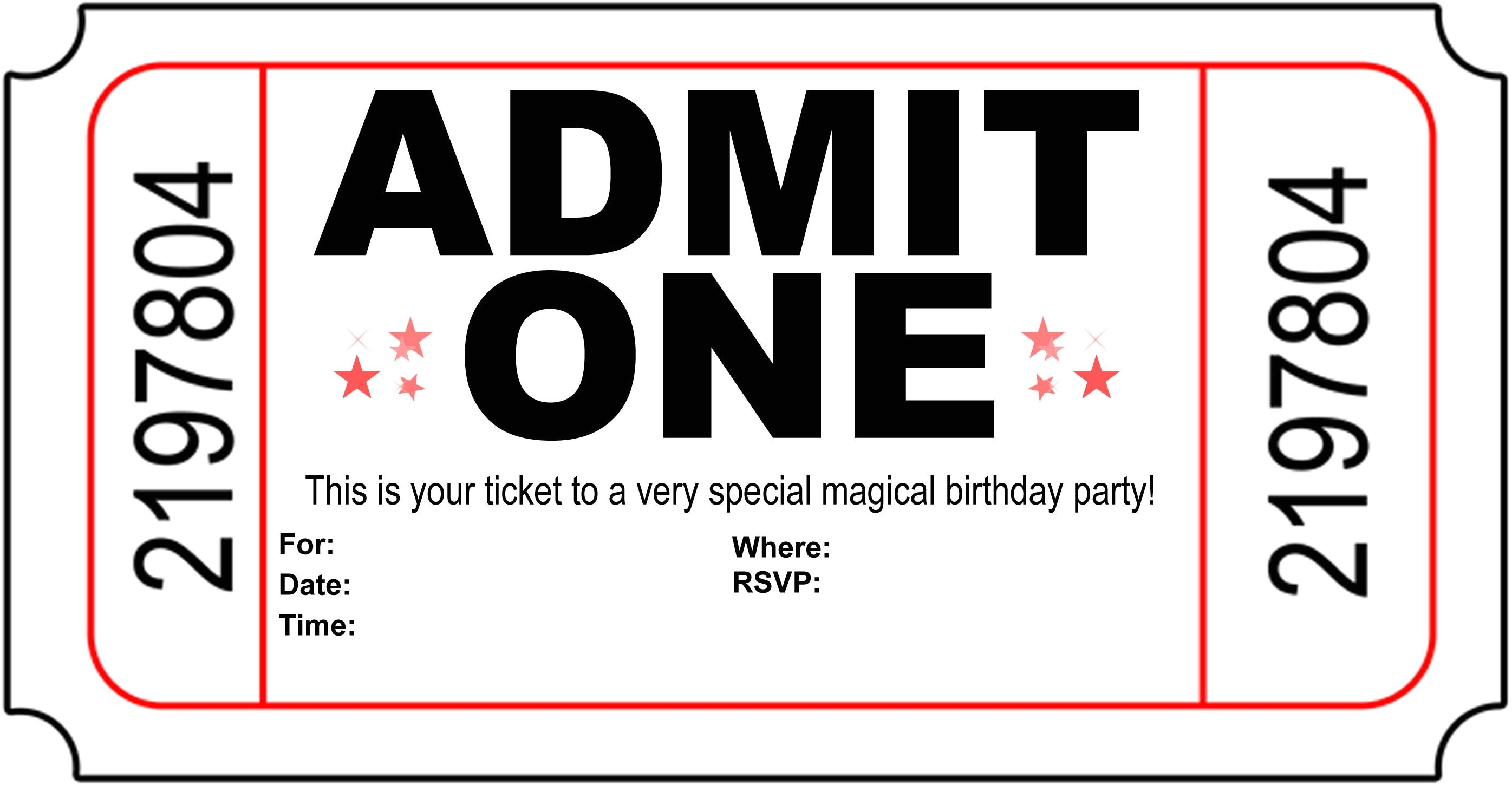 10 simple birthday party invitations design