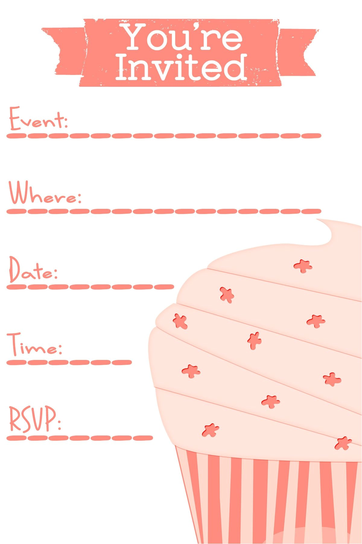 10 simple birthday party invitations design