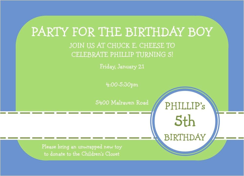 Basic Birthday Party Invitations Basic Boy Invitation Birthday Invitations From Cardsdirect