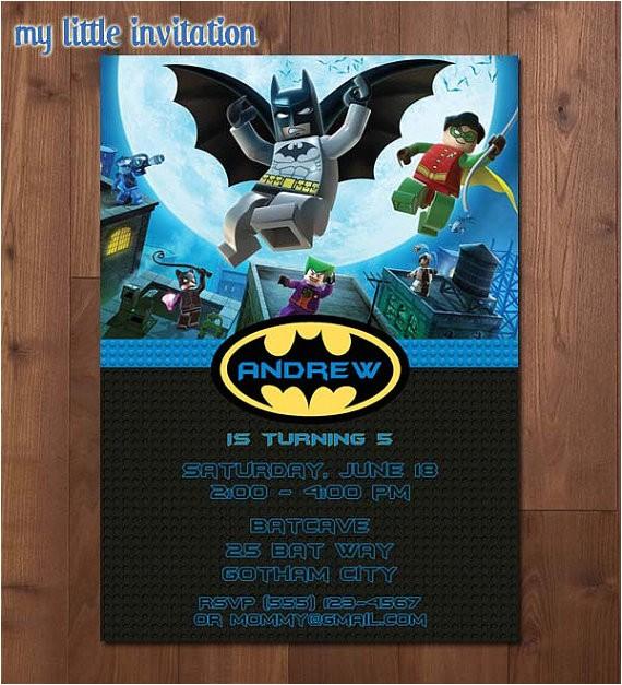 lego batman and robin superhero birthday