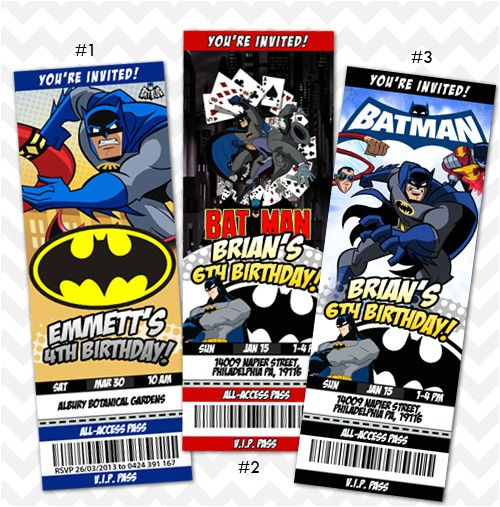 419539 batman invitation batman birthday invites