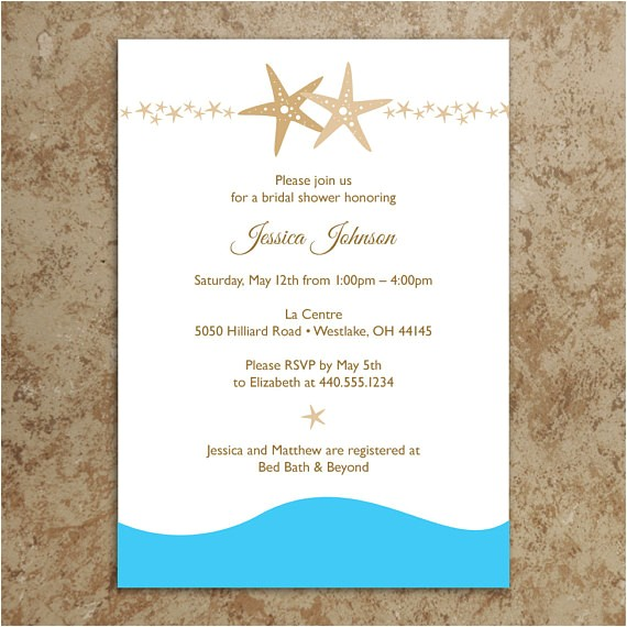 beach invitation diy printable pdf beach