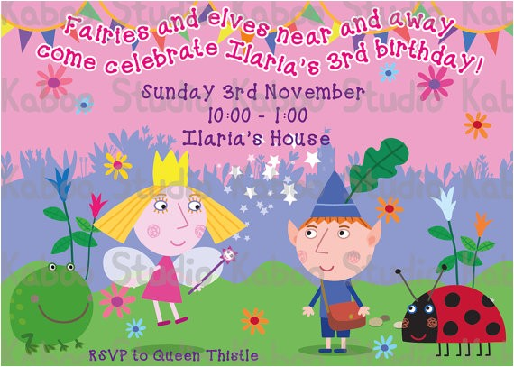 ben and holly clipart