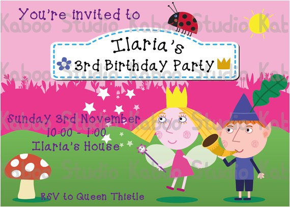 custom invitation ben hollys kingdom digital 5
