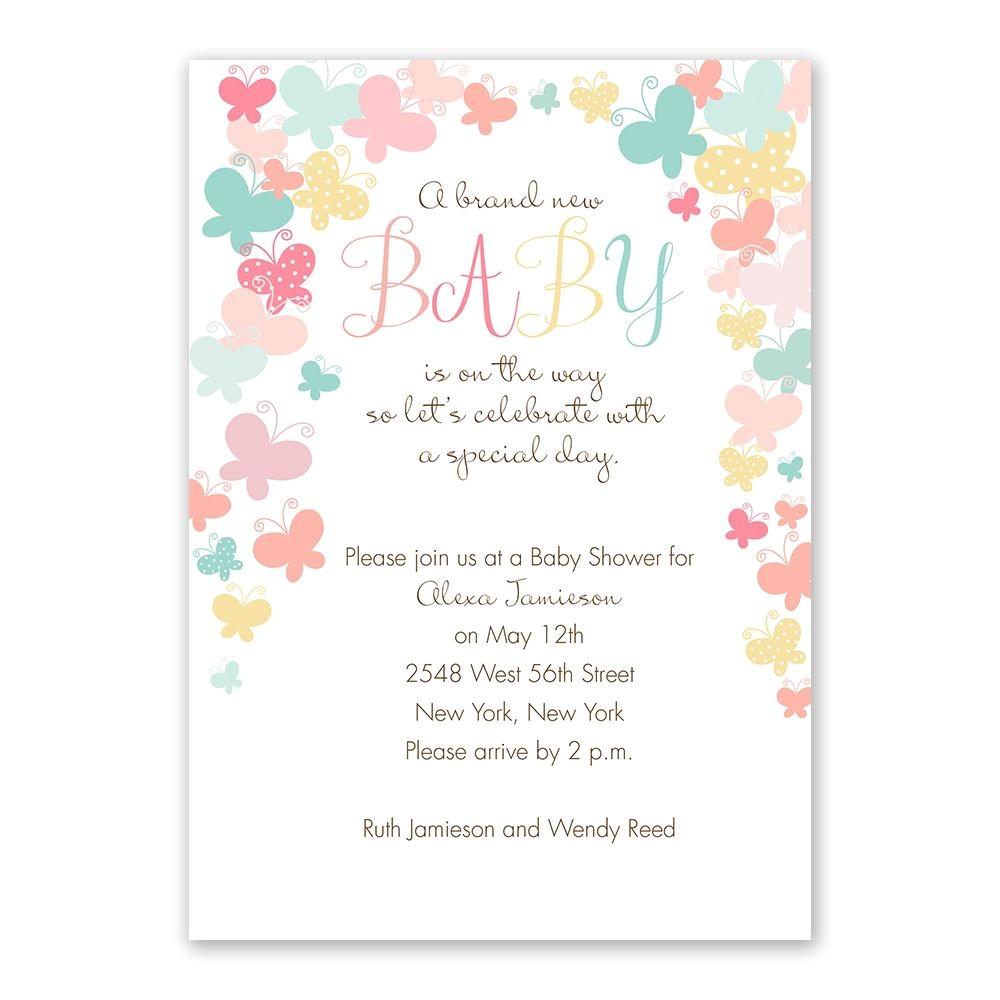 best baby shower invites