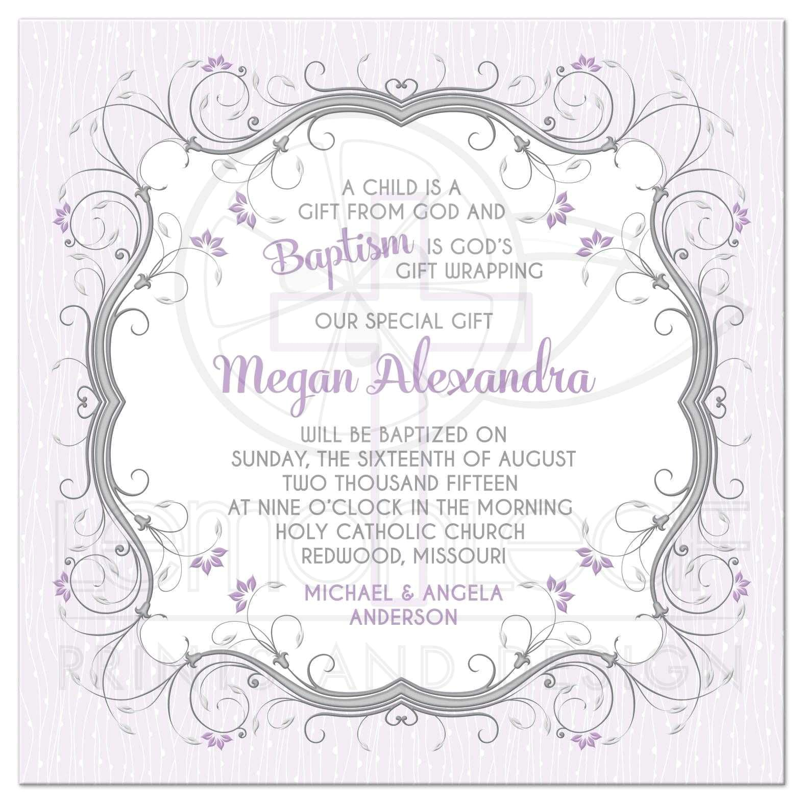 baptism invitation wording bible verses 3