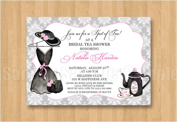 tea fancy hat dress birthday bridal