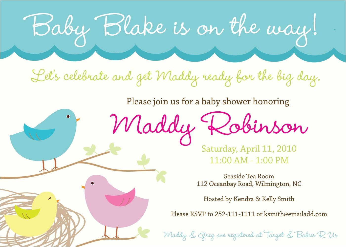 sweet tweet baby nesting bird theme baby