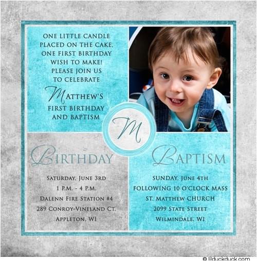 square photo baptism invitations
