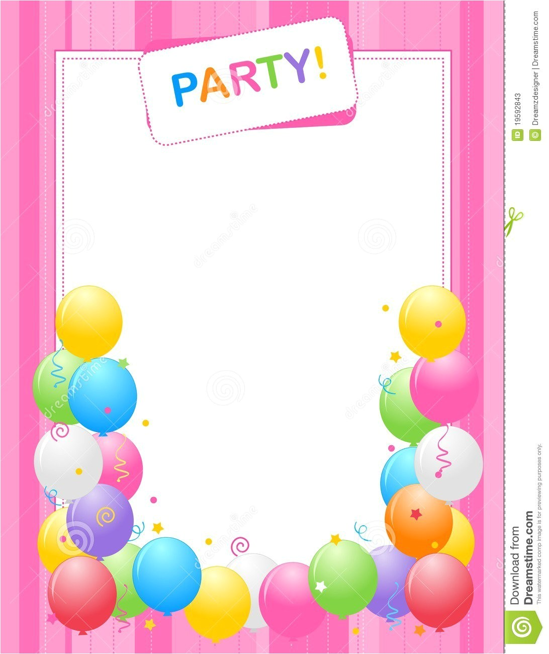 Birthday Invitation Background Templates Birthday Invitation Background Best Party Ideas