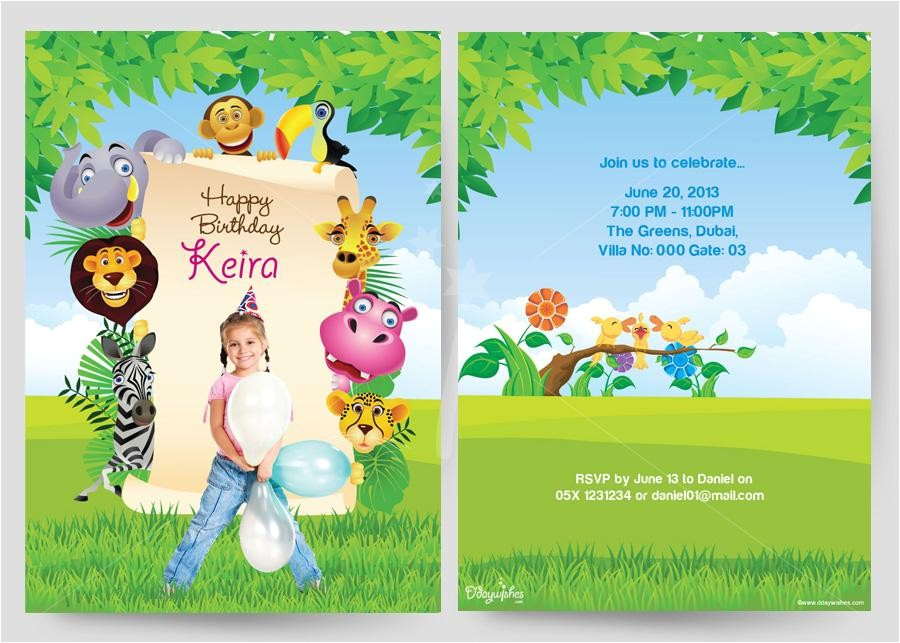 kid birthday invitation card template lovely birthday invitation cards bangalore with high definition hd size yellow card inspirational nice looking template