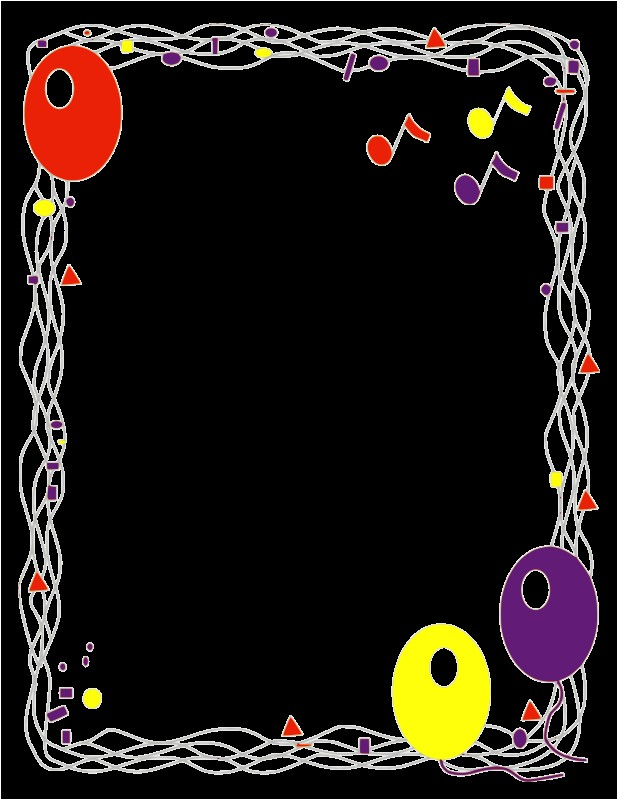 Birthday Invitation Frames and Borders Free Clipart Popular Page 3 1001freedownloads