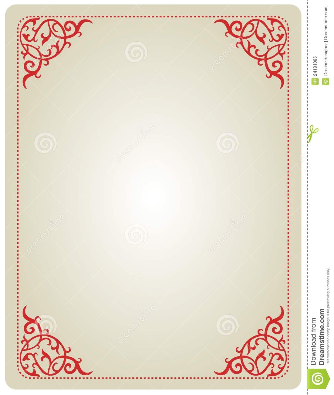 royalty free stock image ornamental invitation frame image24181086