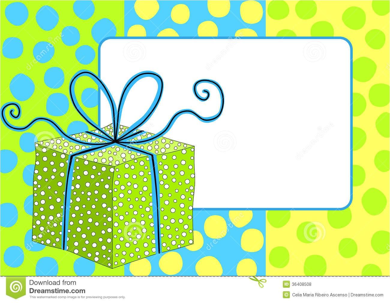 clipart birthday border stripes invitation boy